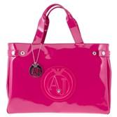 Armani Jeans Large Patent Handbag