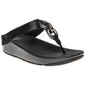 Fitflop Superchain Leather Toe Post Sandals